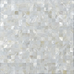 Mother of Pearl Tile White Square Shell Tiles Kitchen Backsplash Wall Stickers Seashell Mosaic Tile