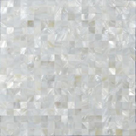 Mother of Pearl Tile White Square Shell Tiles Kitchen Backsplash Wall Stickers Seashell Mosaic Tile
