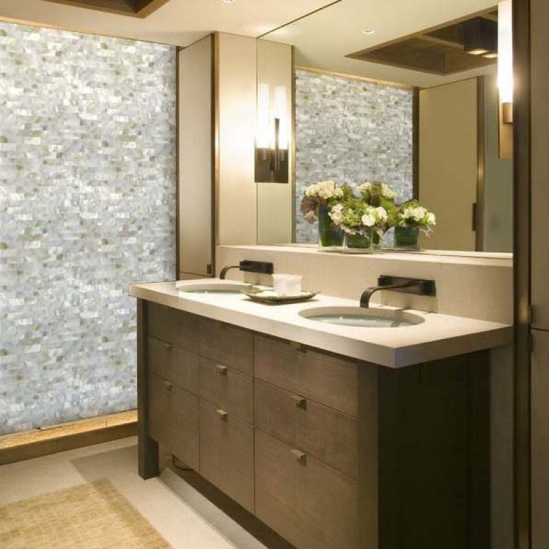 ... White Mother Of Pearl Floor Tile Mosaic Kitchen Wall Tiles Ideas  Seamless Subway Tile Backsplash