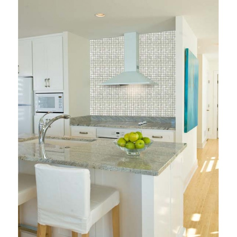 Fresh Water Mother Of Pearl Shell Mosaic Tile Kitchen Backsplash