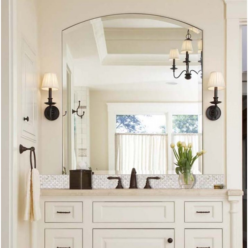 Wall Art Ideas Glamorous Mother Of Pearl Wall Art: Mother Of Pearl Tile Mirror Backsplash Liner Wall