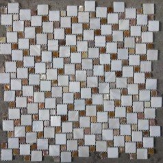 White Mother Of Pearl Square Shell Mirror Iridescent Small Tiles For Backsplash