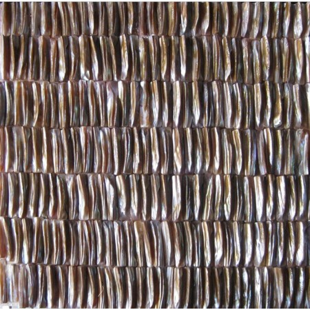 Mother of Pearl Tiles Seamless Irregular Natural Shell Tile for Bathroom Mirrored Wall Backsplash