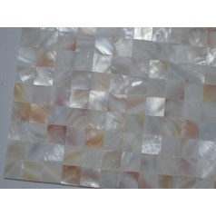 Mother of Pearl Tile Shower wall Backsplash Square Bathroom Seamless Shell Mosaic Tiles MH-002