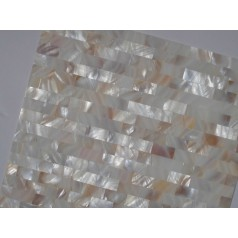 Mother of Pearl Tile Shower Liner Wall Backsplash Rectangle Bathroom Subway Shell Mosaic Tiles MH-003