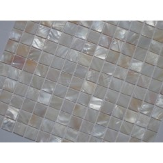 Mother of Pearl Tile Shower Liner Wall Backsplash Square Bathroom Shell Mosaic Tiles MH-005