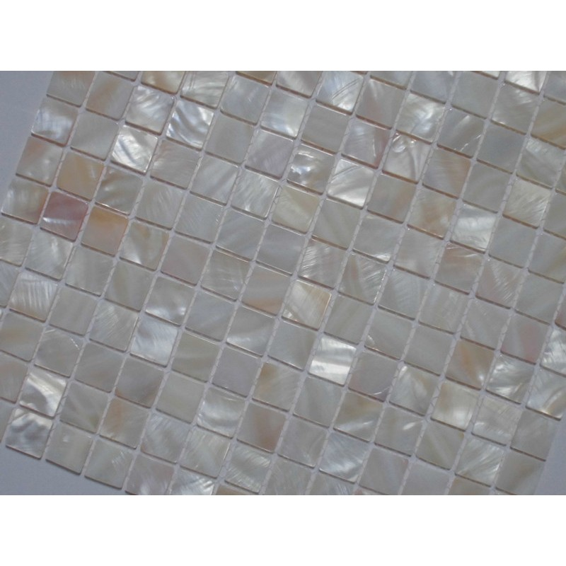 Mother Of Pearl Tile Shower Liner Wall Backsplash Square Bathroom Shell Mosaic Tiles Mh 005