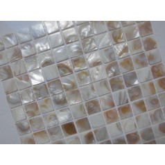 Mother of Pearl Tile Shower Liner Wall Backsplash Square Bathroom Shell Mosaic Tiles MH-007