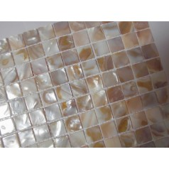 Mother of Pearl Tile Shower Liner Wall Backsplash Square Bathroom Shell Mosaic Tiles MH-008