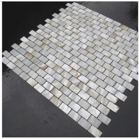 Mother of Pearl Tiles Bathroom Shower Wall Designs Kitchen Backsplash White Subway Shell Mosaic Mc-008