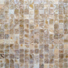 Mother of Pearl Tile Kitchen Wall Backsplash White Square Bathroom Shower Shell Mosaic Tiles Mc-dh003