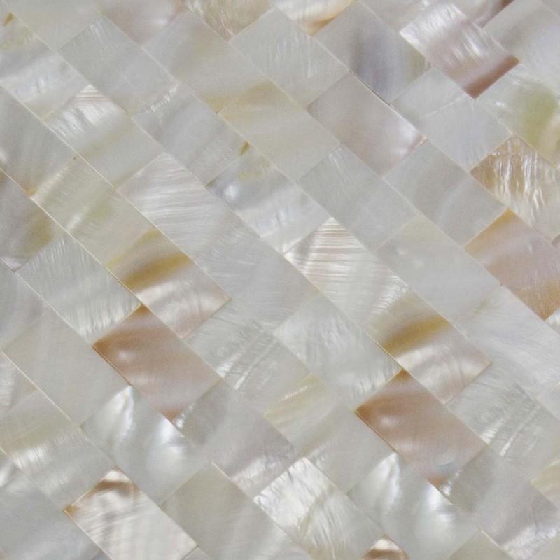 Shell Tile Mosaic Wall Tiling