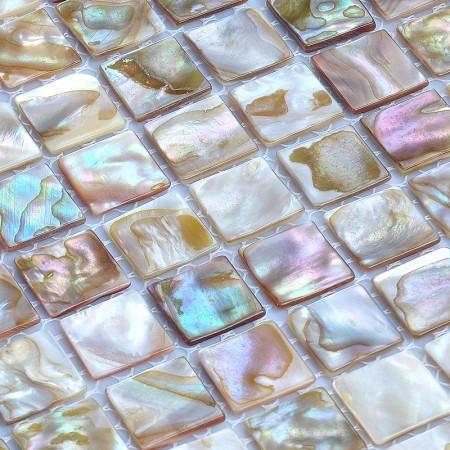 shell tiles 100% natural seashell mosaic mother of pearl tile kitchen backsplash tile design WB-002