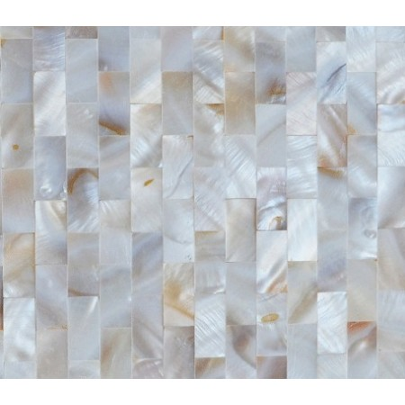 Mother of Pearl Tile Shower Liner Wall Backsplash Rectangle Bathroom Subway Shell Mosaic Tiles WP-089