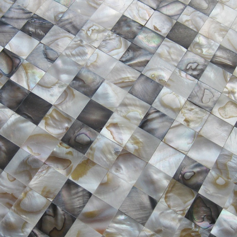 Mother Of Pearl Tiles Wall Kitchen Backsplash Square