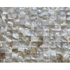 Mother of Pearl Tiles Kitchen Wall Backsplash Square Bathroom Shower Seamless Shell Mosaic Tiles WP-121