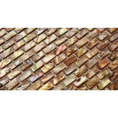 Shell Mosaic Tiles Natural Mother of Pearl Tile Backsplash Seashell Mosaics Pearl Wall Tile MB02