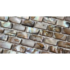 Shell Mosaic Tiles Black Mother of Pearl Tile Backsplash Seashell Mosaics Pearl Wall Tile MB03