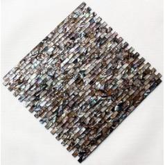 Shell Mosaic Tiles Cheap Subway  Mother of Pearl Tile Backsplash Seashell Mosaic Pearl Wall Tile MB08