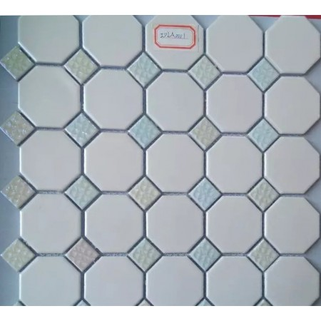 Octagon Ceramic Floor Mosaic