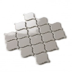 Grey Waterjet Tiles Backsplash Lantern Porcelain Mosaic Fireplace Bathroom Wall Tile Design HCHT001