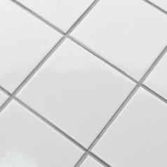 white SHINY porcelain tile NON-SLIP tile washroom wall shower tile kitchen wall backsplashes XMGT0BT