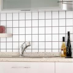 white matte porcelain tile NON-SLIP tile washroom wall shower tile kitchen wall backsplashes XMGT1BT