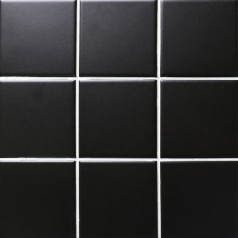 black matte porcelain tile NON-SLIP tile washroom shower tile brick kitchen wall backsplashes XMGTM01