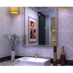 Porcelain Bathroom Wall Interior Decorative Glazed Mosaic Kitchen Backsplash porcelain tiles CP3608