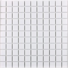 Porcelain Tile Mosaic White Square Surface Art Tiles Kitchen Backsplash Bathroom Shower Wall Sticker
