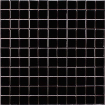 Porcelain Tile Mosaic Black Square Surface Art Tiles Kitchen Backsplash Bathroom Shower Wall Sticker