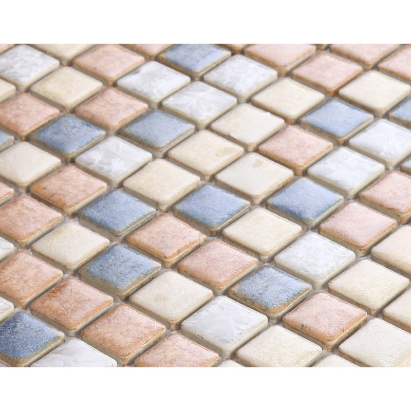 Glazed Porcelain Square Mosaic Tiles Design Ceramic Tile Walls Kitchen Backsplash Ds 999