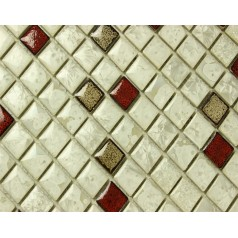Wholesales Porcelain Square Mosaic Tiles Design porcelain tile flooring Kitchen Backsplash TA2536