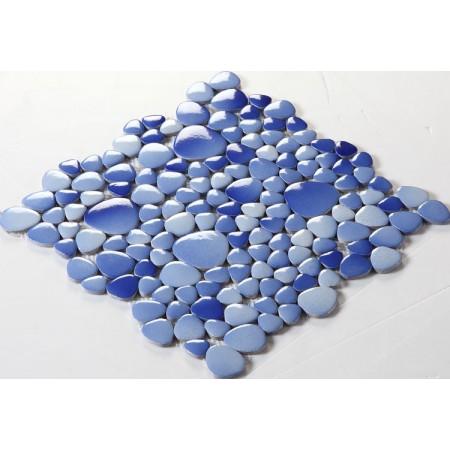 Wholesale Porcelain Pebble Mosaic Tiles Design Ceramic Tile Flooring Kitchen Backsplash FS1701
