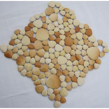Wholesale Porcelain Pebble Mosaic Tiles Design Ceramic Tile Flooring Kitchen Backsplash FS1709