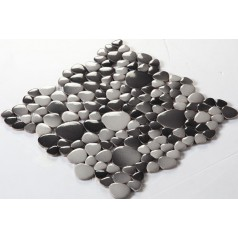 Wholesale Porcelain Pebble Mosaic Tiles Design Ceramic Tile Flooring Kitchen Backsplash FS1710