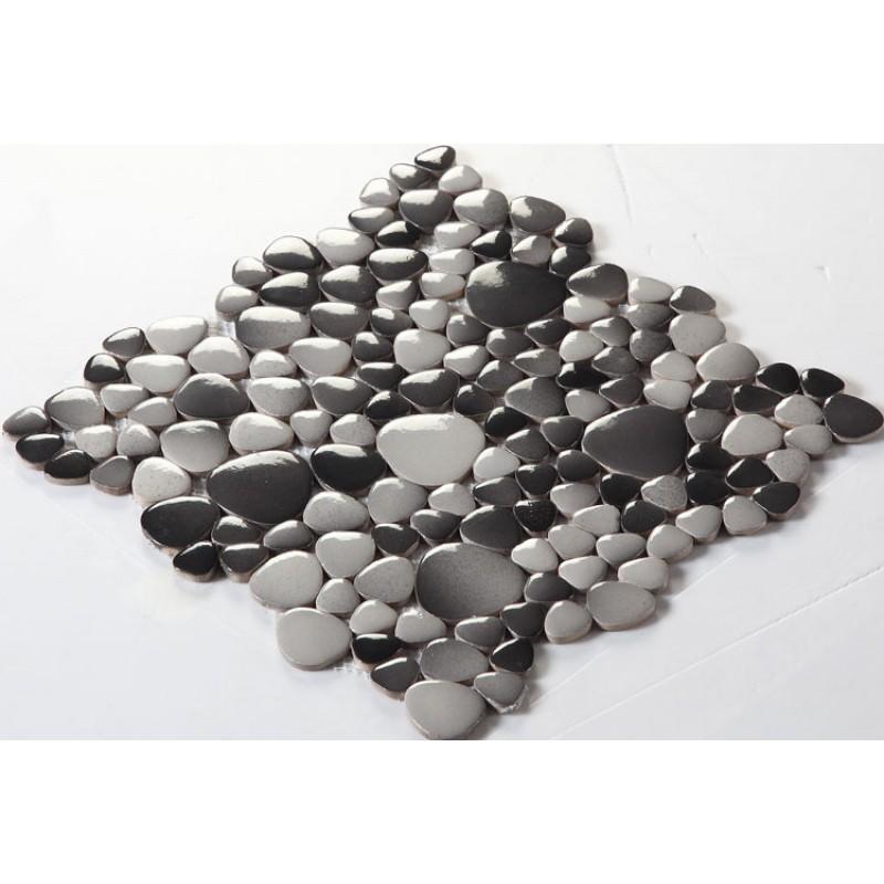 Porcelain Pebble Mosaic Tiles Design Porcelain Tile