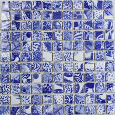 Wholesales Porcelain Square Mosaic Tiles Design porcelain tile flooring Kitchen Backsplash AD-777