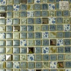 Wholesales Porcelain Square Mosaic Tiles Design porcelain tile flooring Kitchen Backsplash DS2508