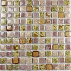 Wholesales Porcelain Square Mosaic Tiles Design porcelain tile flooring Kitchen Backsplash GH-456