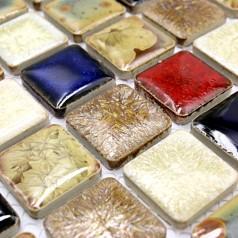Wholesales Porcelain Tile Square Mosaic Tiles Design porcelain tile flooring Kitchen Backsplash GM11