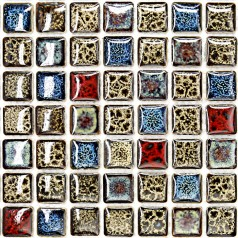 Wholesales Porcelain Square Mosaic Tiles Design porcelain tile flooring Kitchen Backsplash GM02