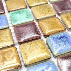 Wholesales Porcelain Square Mosaic Tiles Design porcelain tile flooring Kitchen Backsplash GM06
