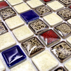 Wholesales Porcelain Tile Square Mosaic Tiles Design porcelain tile flooring Kitchen Backsplash GM08