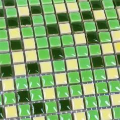 Glazed Porcelain Square Mosaic Tiles Design Ceramic Tile Walls Kitchen Backsplash HB-M161