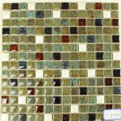 Wholesales Porcelain Square Mosaic Tiles Design porcelain tile flooring Kitchen Backsplash J662