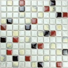 Wholesales Porcelain Square Mosaic Tiles Design porcelain tile flooring Kitchen Backsplash SS-552
