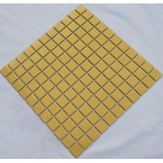 Glazed Porcelain Square Mosaic Tiles Design Gold Ceramic Tile Swimming Pool Flooring Kitchen Backsplash TC-008