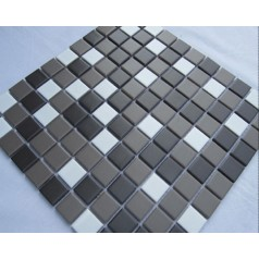 Glazed Porcelain Square Mosaic Tiles Design Ceramic Tile Swimming Pool Flooring Kitchen Backsplash TC-010