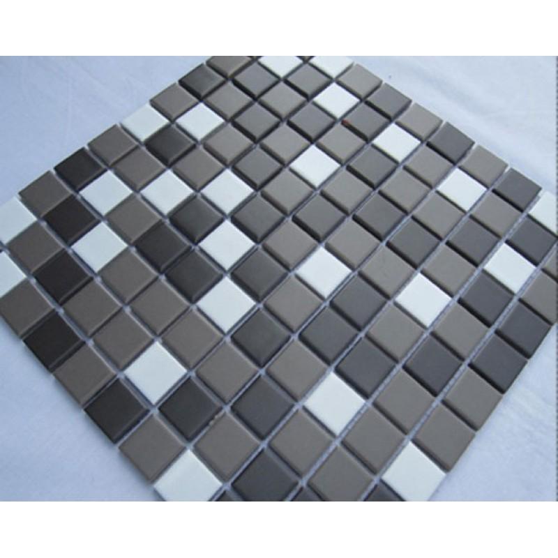 Glazed Porcelain Square Mosaic Tiles Design Ceramic Tile Swimming ...
